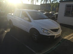 2008 Ssangyong Actyon dual cab ute. - Brisbane